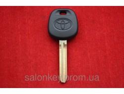 Ключ Toyota с местом под чип, лезвие ключа TOY43