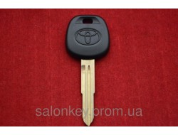 Ключ Toyota с местом под чип, лезвие ключа TOY41