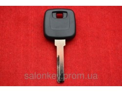 Ключ Volvo с местом под чип, лезвие HU56 без лого