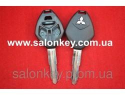 Корпус для ключа Mitsubishi 3+1 кн. ROMB MIT11R