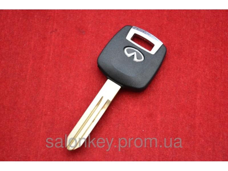 Ключ Infiniti FX35, FX45, QX56, M35 с местом под чип Оригинал