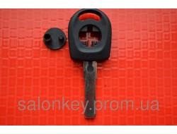 Ключ VW t5, trasporter, b5, caddy с местом под чип HU66 вид2