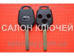 Ключ Subaru tribeca, forester, impreza, outback корпус 3 кнопки. Лезвие Dat17. вид№2