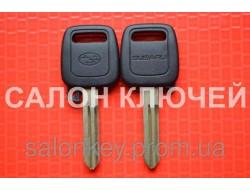 Ключ Subaru tribeca, forester, impreza, outback с местом под чип. Лезвие NSN14