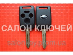 Ключ Subaru tribeca, forester, impreza, outback 3+1 кнопка. Лезвие NSN14 корпус вид№3.