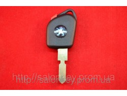 Ключ Peugeot 406, 607 С местом под чип