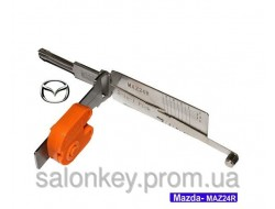 Smart 2в1 MAZ24. Отмычка и декодер Mazda.