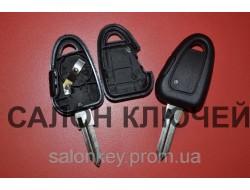 Корпус ключа Iveco, Fiat, Alfa 1 кнопка