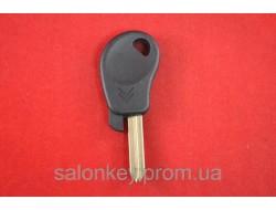 Ключ Citroen 2 лезвие SХ9. C местом под чип оригинал