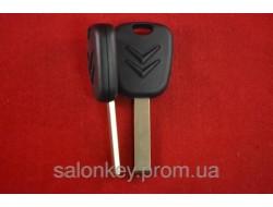Ключ Citroen c1, c3, c4, berlingo, лезвие VA2 c местом под чип оригинал