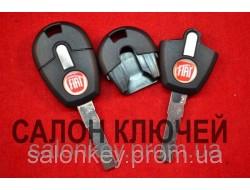 Ключ Fiat doblo, ducato, scudo, punto, fiorino ключ с местом под чип лезвие SIP22 вид №4