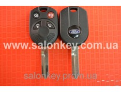 Ключ корпус Ford 4 кнопки лезвие FO39