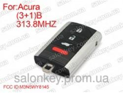 Smart ключ Acura 313.8mhz FCCID:M3N5WY8145 3+1 кнопки