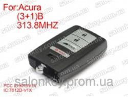 Acura смарт ключ 313.8mhz FCCID:KR5V1X 3+1 кнопки