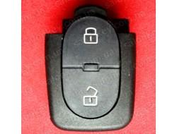 Кнопки для ключа Audi 2 кн нижняя часть Под батарейку 1620