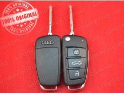Корпус выкидного ключа Audi 3 кнопки 2004-2010