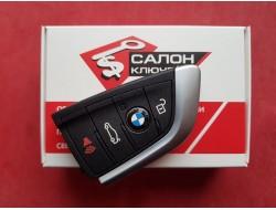 Смарт ключ BMW F series 4 кнопки 433MHz 6806000-01 HELLA NBGIDGNG1 IDGNG1 (Original) Refurbished