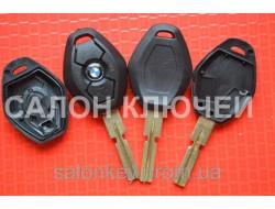 Ключ Bmw 3, 5, 7, x3, x5 3 кнопки лезвие HU58 Вид Ромб Среднее качество