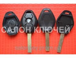 Ключ Bmw 3, 5, 7, x3, x5 3 кнопки лезвие HU92 Вид Ромб Среднее качество