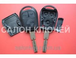 Ключ Bmw 3, 5, 7, 3 кнопки лезвие HU58 Вид Гитара, Среднее качество