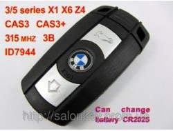 Ключ BMW 315MHz ID46 CAS