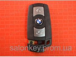 Bmw x5, x6 смарт ключ 3 кнопки до 2010г. корпус ключа bmw