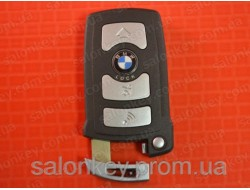 Bmw 7 смарт ключ 4 кнопки до 2009г. корпус ключа bmw 7