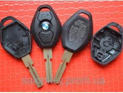 Ключ Bmw 3, 5, 7, x3, x5 3 кнопки лезвие HU92 Вид Ромб Оригинал