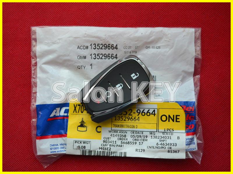 Оригинальный Ключ Chevrolet Smart system FCC ID: HYQ4AA
