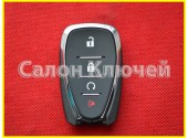 13585728 Ключ Chevrolet USA (Original) Cruze 17-19 Traverse 18-19 Volt 16-18 433Mhz Smart system FCC ID: HYQ4EA 13529638