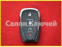 Смарт ключ Chevrolet Volt USA 16-19 (Шевроле Вольт) (Мексика без лого) HYQ4EA