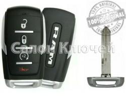 Ключ Dodge RAM 19-21 OHT-4882056 68401332AA 68401332AB 68291689AD 68401332AE