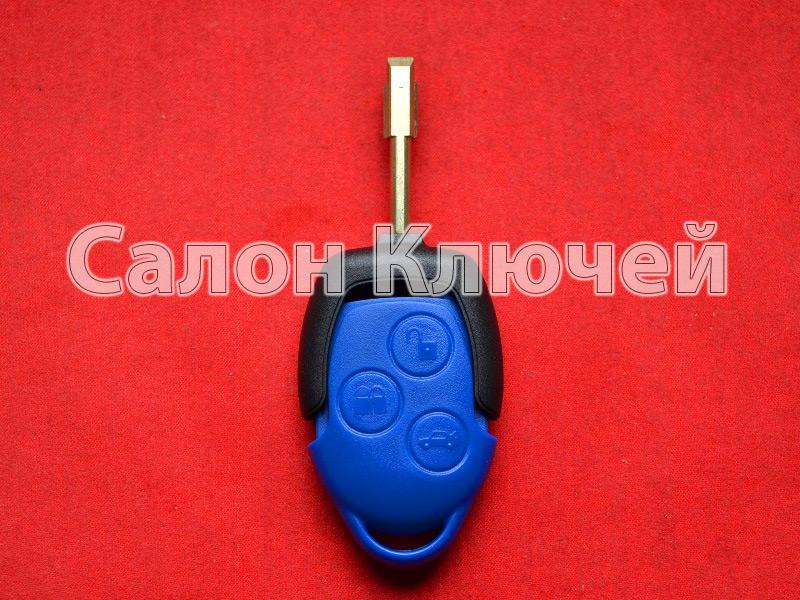 Ключ FORD Transit синий id63 434MHZ
