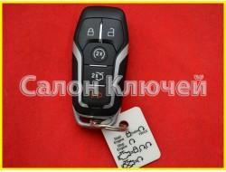 Смарт ключ Ford Fusion USA 13-17 (Форд Фьюжн) (Original) 5 кнопок M3N-A2C31243300