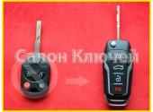 Выкидной ключ Ford Escape USA 2012-2018 2+1 кнопки 315Mhz ID83