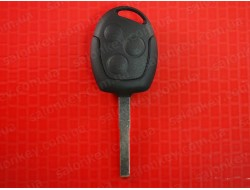 Корпус ключа Ford Mondeo Focus Fiesta Fusion 3 кнопки лезвие HU101