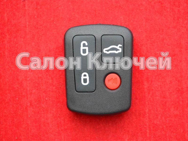 Ford брелок 3+1 кнопка 433Mhz