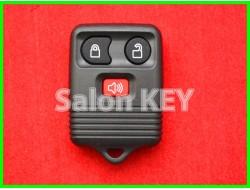 Корпус брелка Ford Transit Transit-Connect 3 кнопка красная