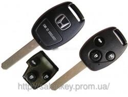Ключ Honda Accord 434Mhz, ключ хонда акорд 3 кнопки