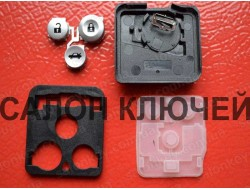Кнопки Honda 3B для выкидного ключа корпус без электроники