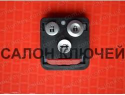 Кнопки Honda 3+1B для выкидного ключа корпус без электроники