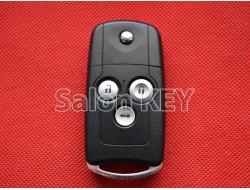 Оригинальный корпус выкидного ключа Honda Accord 3 кнопки 2008-2012