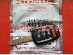 35118-T2A-A20 Ключ Honda (Original) 35118T2AA20