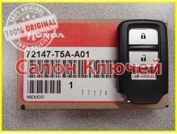 72147-T5A-A01 Смарт ключ HONDA с чипом и кнопками (ORIGINAL)