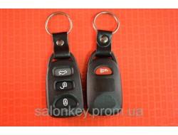 Hyundai корпус брелка 3+1 кнопки