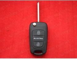 Выкидной ключ Hyundai IX35 ID46 433Mhz FSK HYN14L