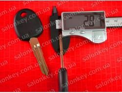 Ключ Хундай Акцент (Hyundai Accent) с чипом 05-11г