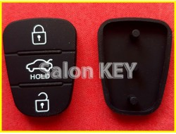 Кнопки для выкидного ключ Hyundai средняя HOLD