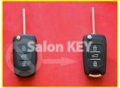Улучшенный Оригинальный корпус ключа Hyundai для переделки из выкидного 3 кнопки