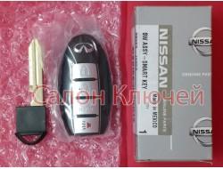 285E3-1LL0A / 285E3-1MP0A Ключ Infinity proxy 4 кнопки  FCC ID: CWTWB1U787
